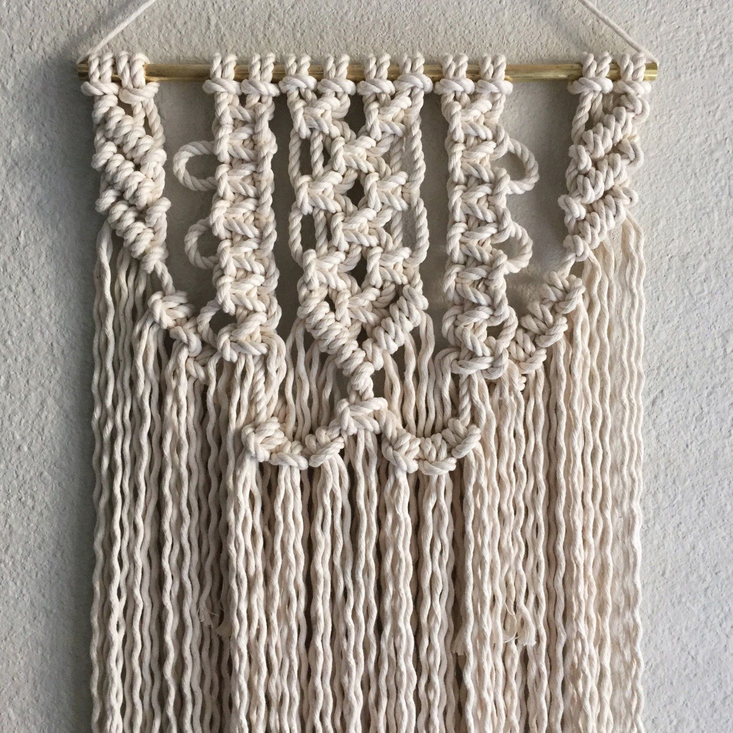 New Macrame Wall Hanging Pattern available now