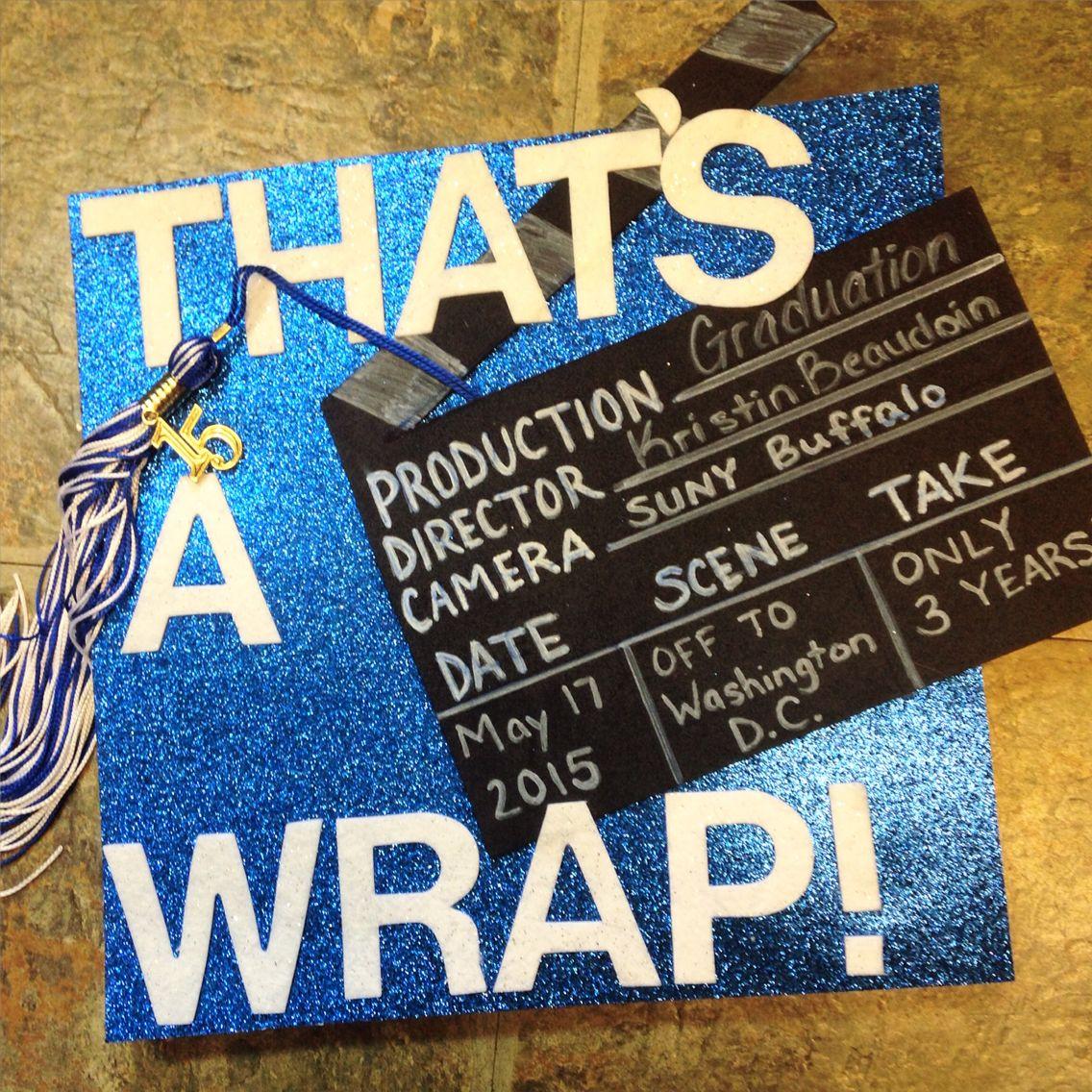 Graduation Hat! Felt letters, glitter paper, and black foam!Just a ...