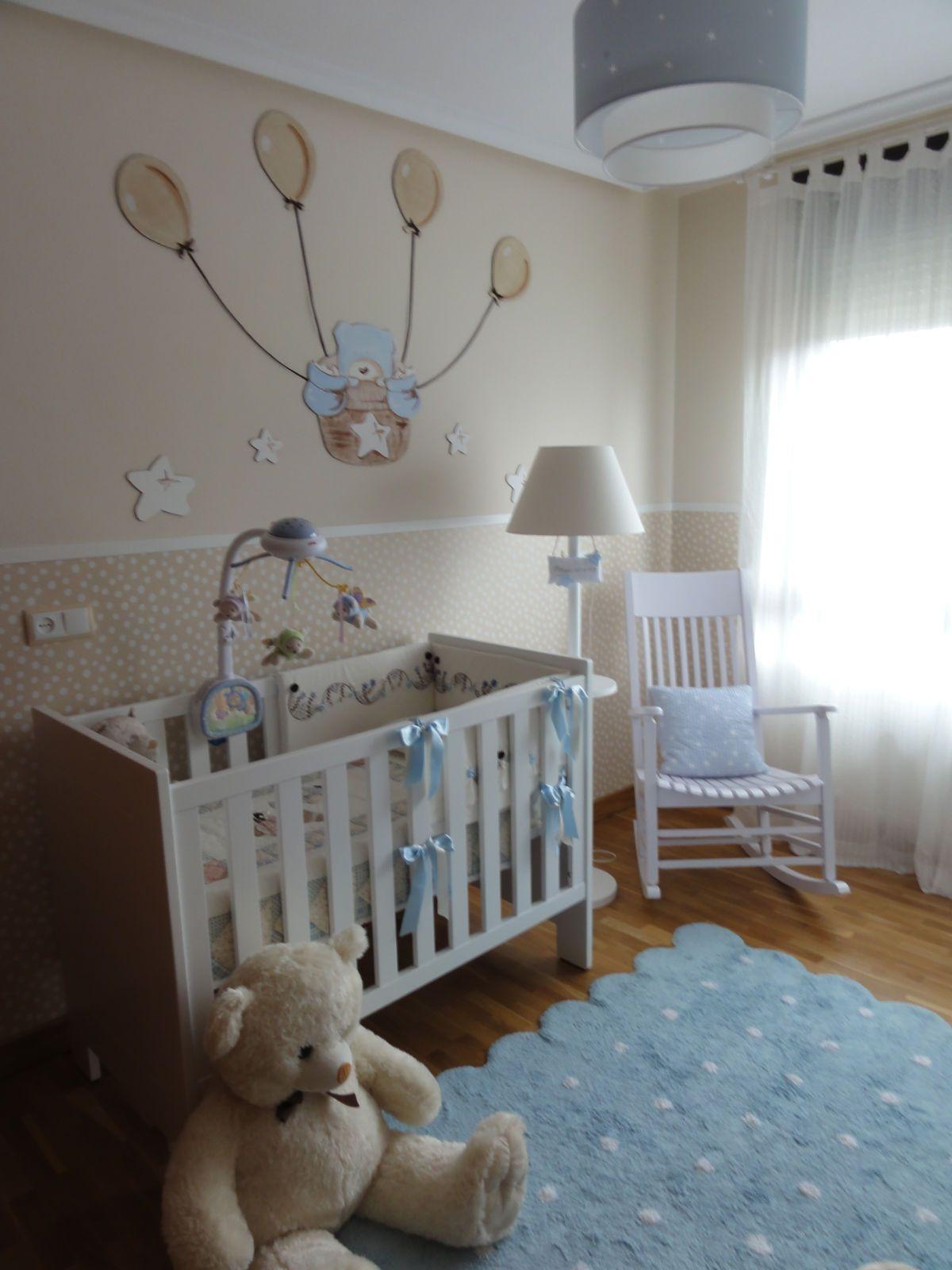 Distribuci n dormitorio beb grace dormitorio bebe - De que color pintar una habitacion ...