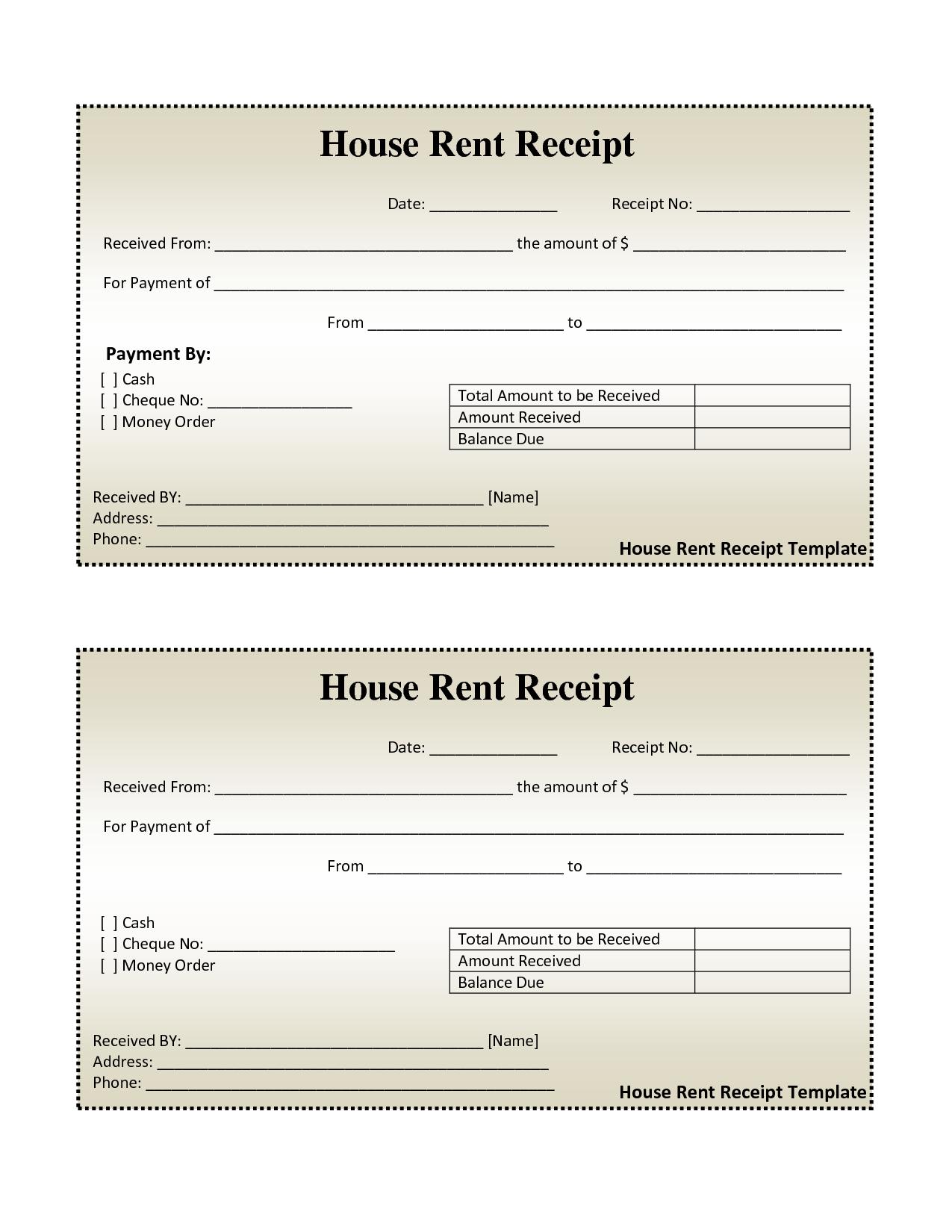 Unique Rent Billing Xls Xlsformat Xlstemplates Xlstemplate Check More At Https Mavensocial Co Ren Receipt Template Free Receipt Template Invoice Template