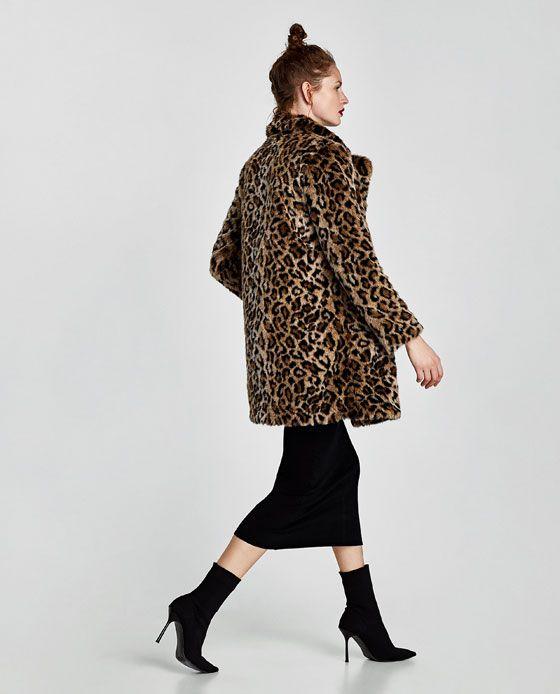 1a38ae30945a Leopard Coat   Zara Leopard Print Coat, Outerwear Women, Zara, Normcore,  Velvet