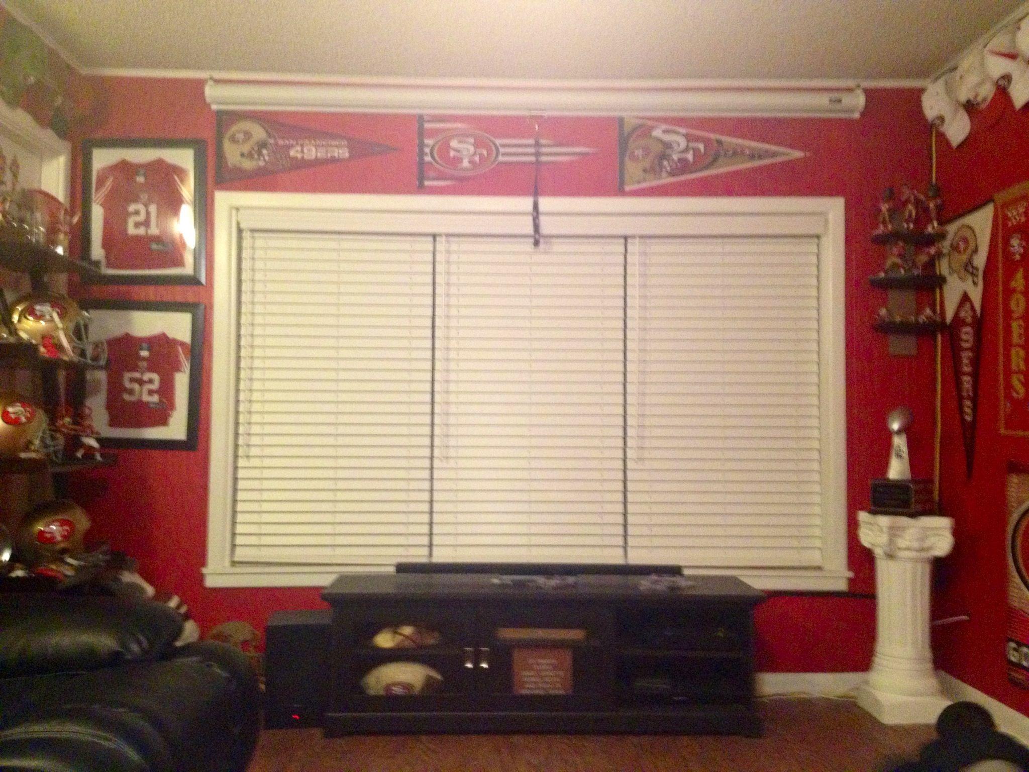 49ers Room Humm I Guess I Ll Show Him 49ers Room Home Decor Game Room