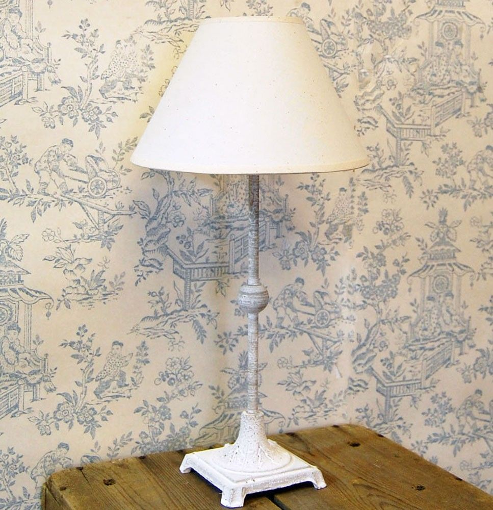 Bowley jackson lighting bowley jackson french country bowley jackson breton french grey metal table lamp with coolie shade bowley jackson mozeypictures Images