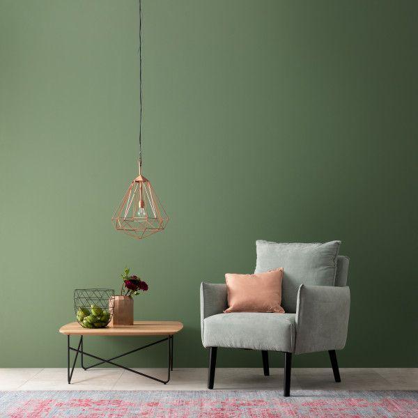 Designfarbe Ausgeglichenes Piniengrun Schoner Wohnen Kollektion In 2020 Schoner Wohnen Wandfarbe Schoner Wohnen Farbe Und Wandfarbe Grun