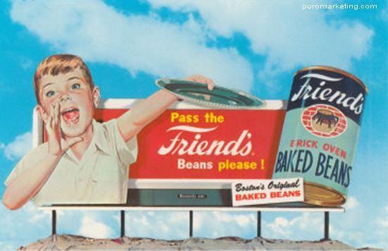 Sí, en esos tiempos se hacía publicidad.