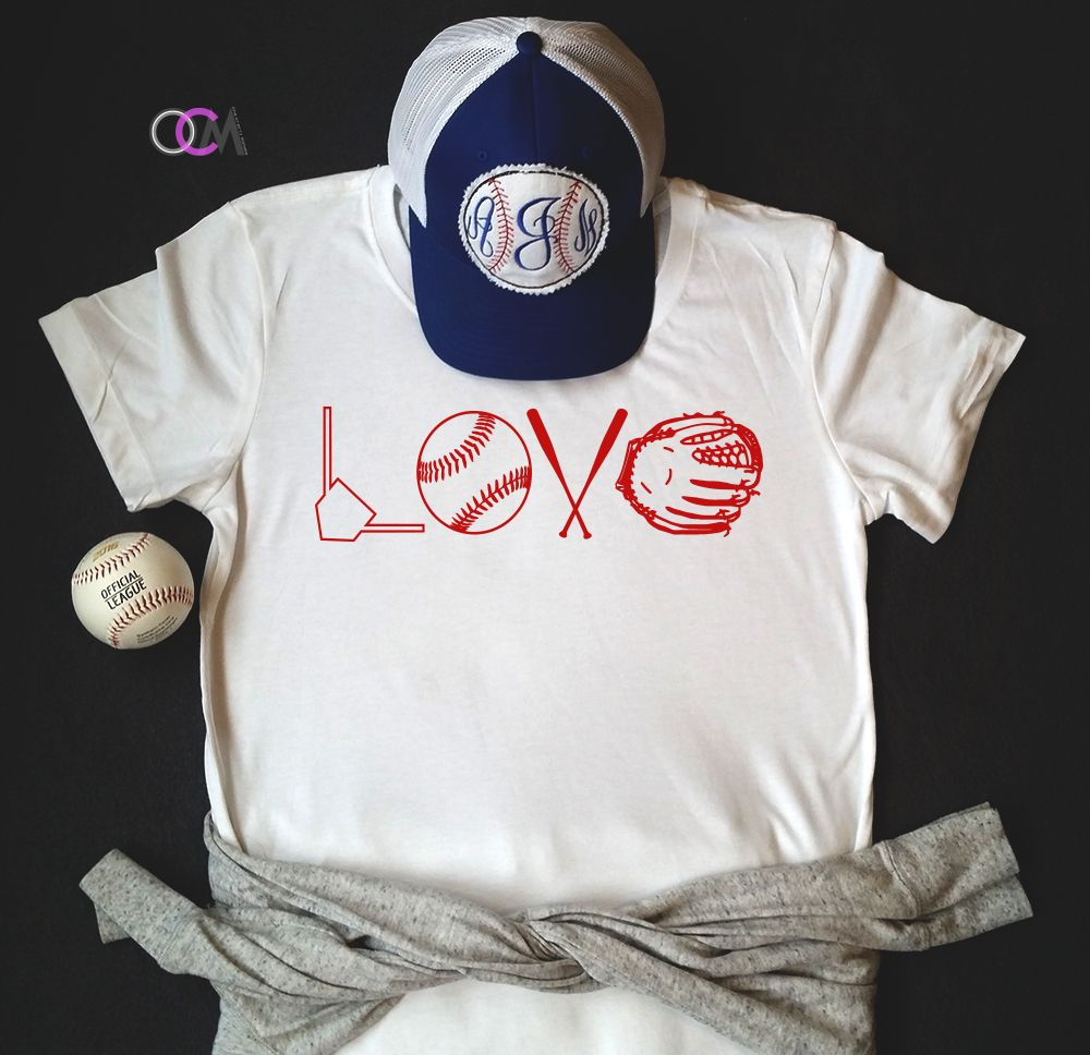 2d98bcd5 Love Baseball Shirt, Baseball Mom shirt, Love Baseball - T-Shirt ...