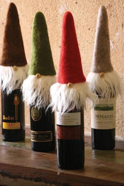 Decorazioni Bottiglie Natalizie.Decorare Le Bottiglie A Natale 20 Idee A Cui Ispirarsi Natale