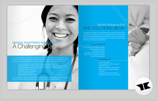 15 medical brochure design examples office brochure design