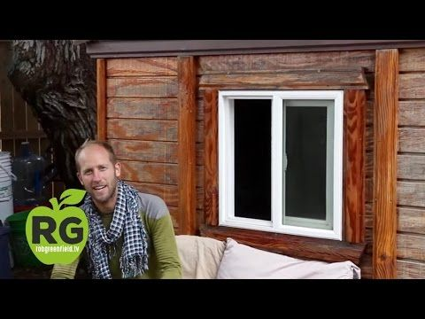 Off The Grid In A Tiny House With Rob Greenfield Youtube