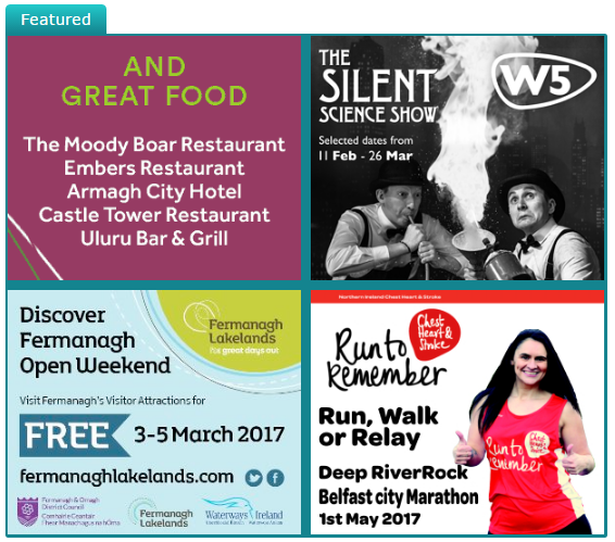 Check out this week's featured events over at whatsonni