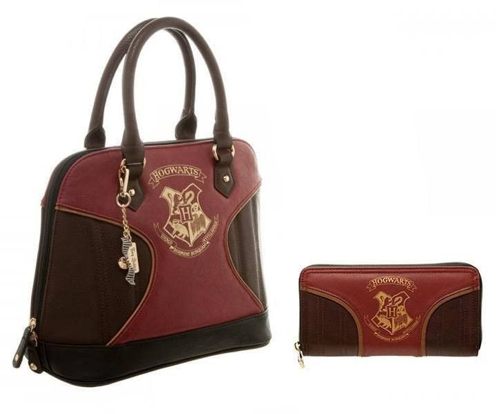 Wizarding Wares Harry Potter™ Officially Licensed Hogwarts Handbag With Matching Purse,  - 2