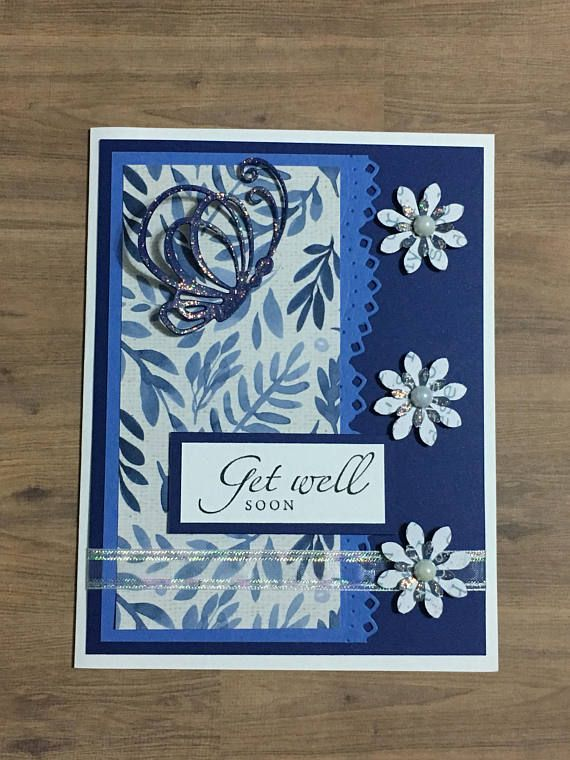 get well card handmade card greeting card occasion card
