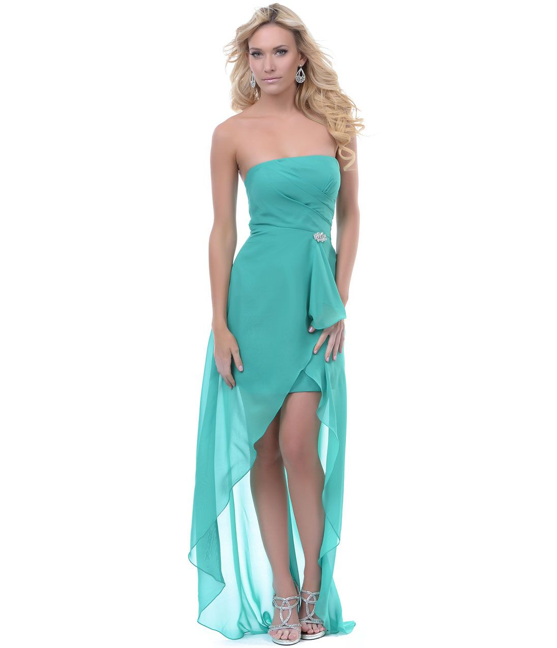 Unique Vintage | Sage, Prom and High low