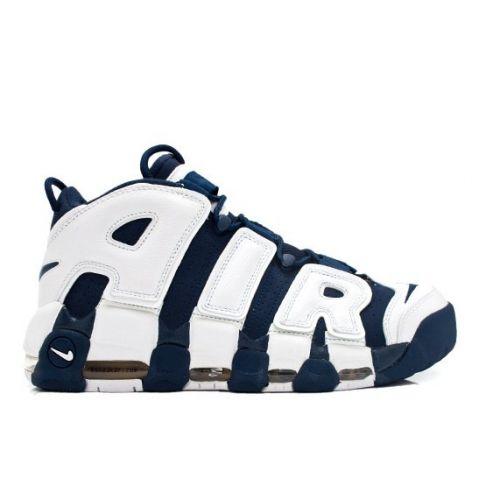 buy online e30ff e1573 Nike Air More Uptempo Olympic Scottie Pippen 414962-401 Midnight Navy White  Spirit Red  89.00