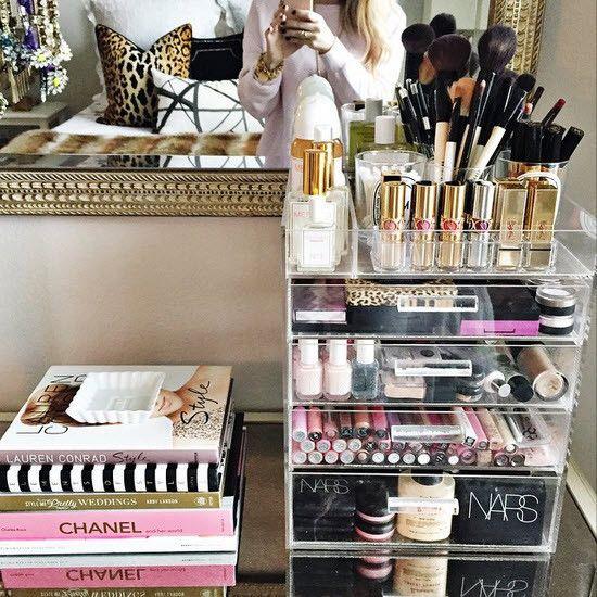GLAMbox Makeup Beauty Organizer & Display