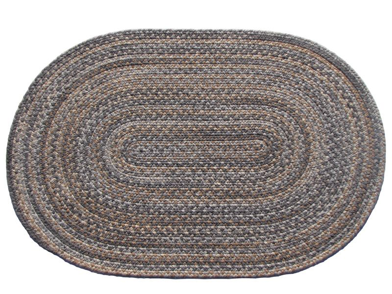 Lowcountry Granite This High Quality Wool Braided Rug Is Made By American Workers At Our Family Owned Business In The Braided Wool Rug Rugs High Quality Wool