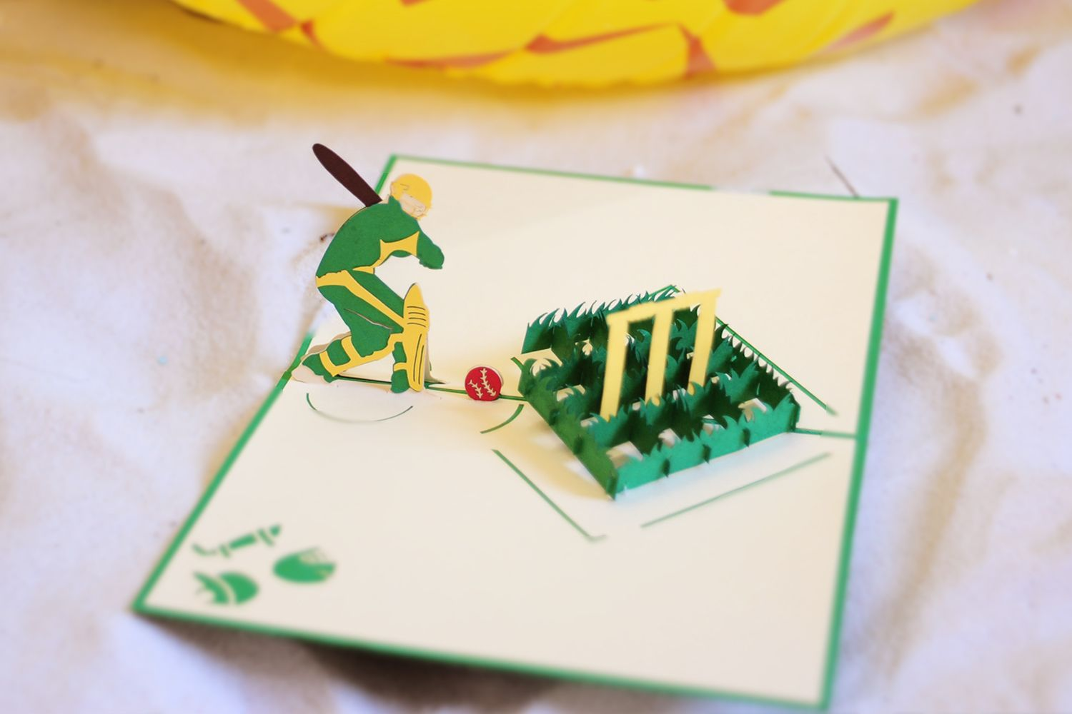 Cricket Pop Up Card Father S Day Pop Up Cards Sport Card 3d Manufacturer Charmpop Pop Up Cards Wholesale Greeting Cards Greeting Card Collection
