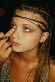 Image Result For Messy Cornrows Thin Hair