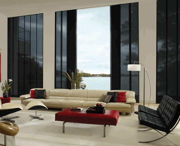 Contemporary Window Treatments That Couch Is Nice And Long A Lot