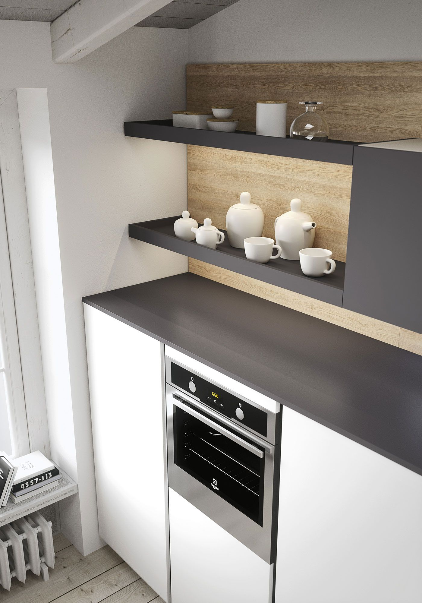 Palette Küche First Is A Kitchen Designed For Young Homeowners In Terms Of