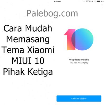 Cara Mudah Memasang Tema Xiaomi Miui 10 Palebog Aplikasi Kartun Iphone