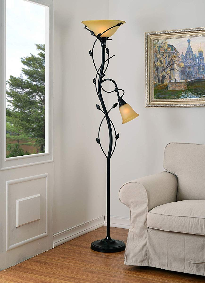 Kenroy Home 32241 Callahan Floor Lamp/Torchiere, 72 Inch