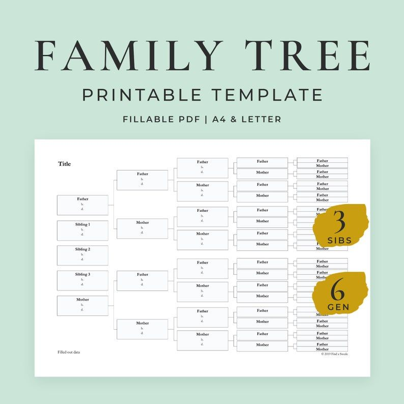 Family Tree Templates Excel Fresh Free Editable Family Tree Template Daily Roabox Family Tree Printable Blank Family Tree Template Family Tree Template Excel