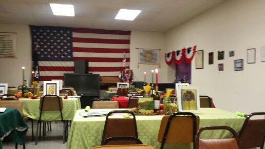 Taste of Italy American Legion Auxiliary Unit #15  Kathy
