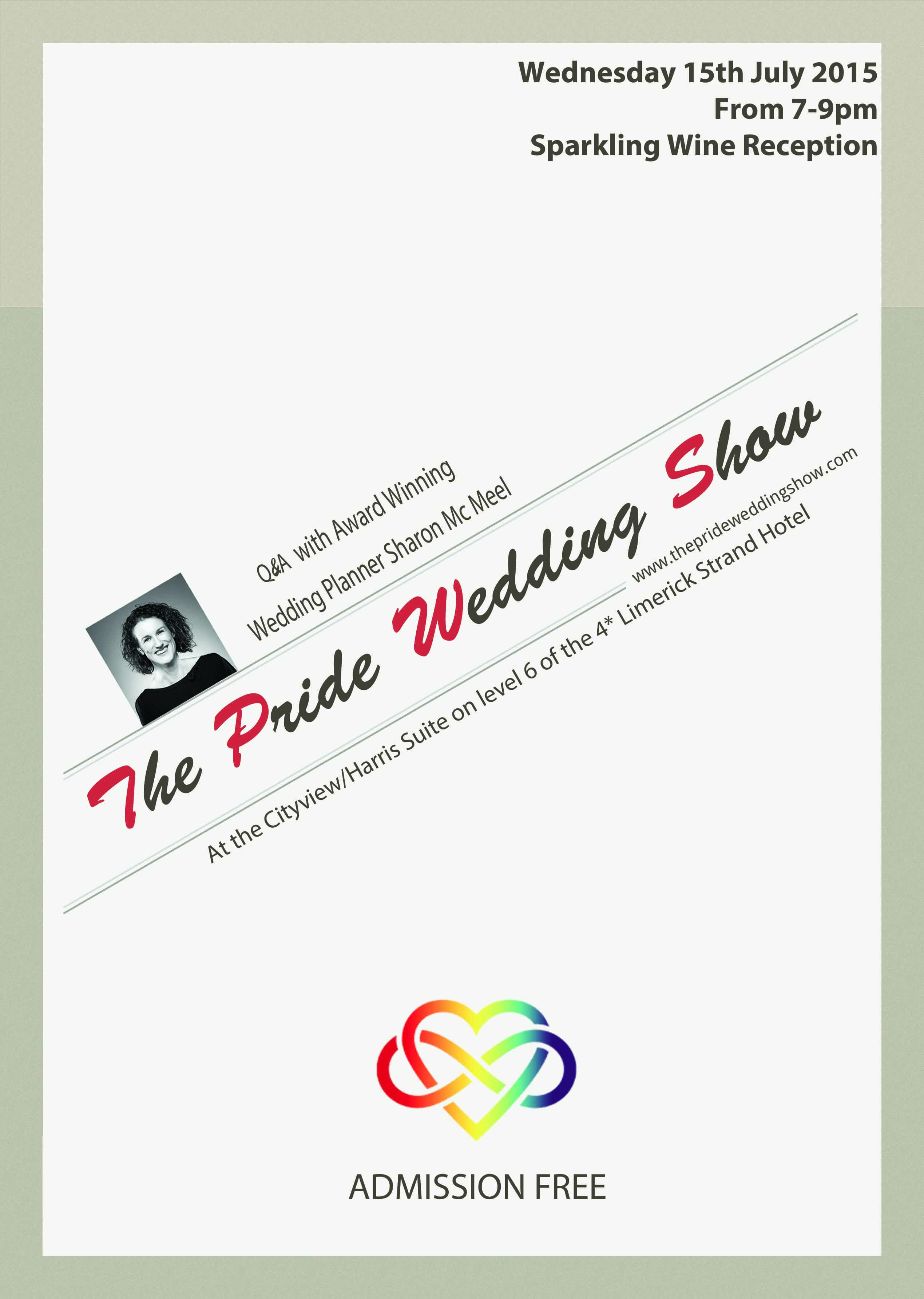 The second annual Pride Wedding Show will take place at the 4 ...