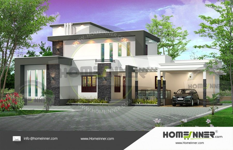 Sq ft bhk bungalow latest house plan also home designs rh pinterest