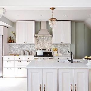 Sarah Richardson Design Kitchens Farrow And Ball Light Blue Ikea Cabinets Ikea Island Ik Small Cottage