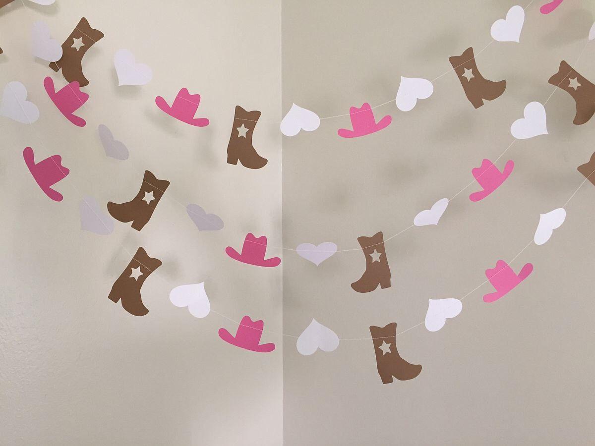 Cowgirl Birthday Party Decoration Cowgirl Party Garland Cowgirl Theme  Childu0027s Room Decor I Am 1 Cowgirl