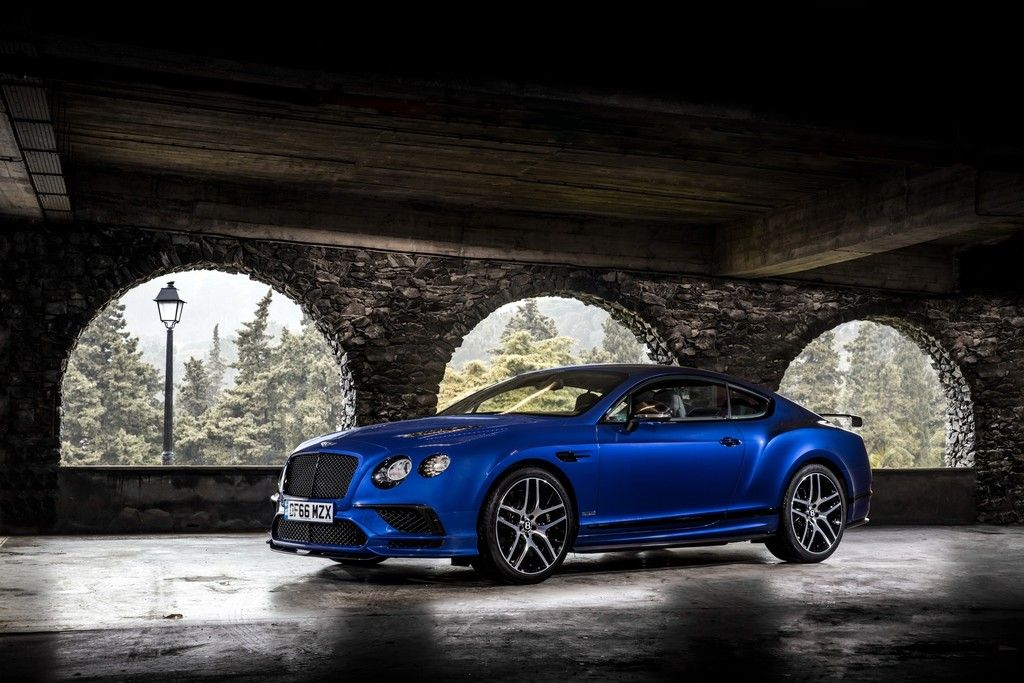 Lovely Bentley Continental GT, Blue Luxury Car Wallpaper