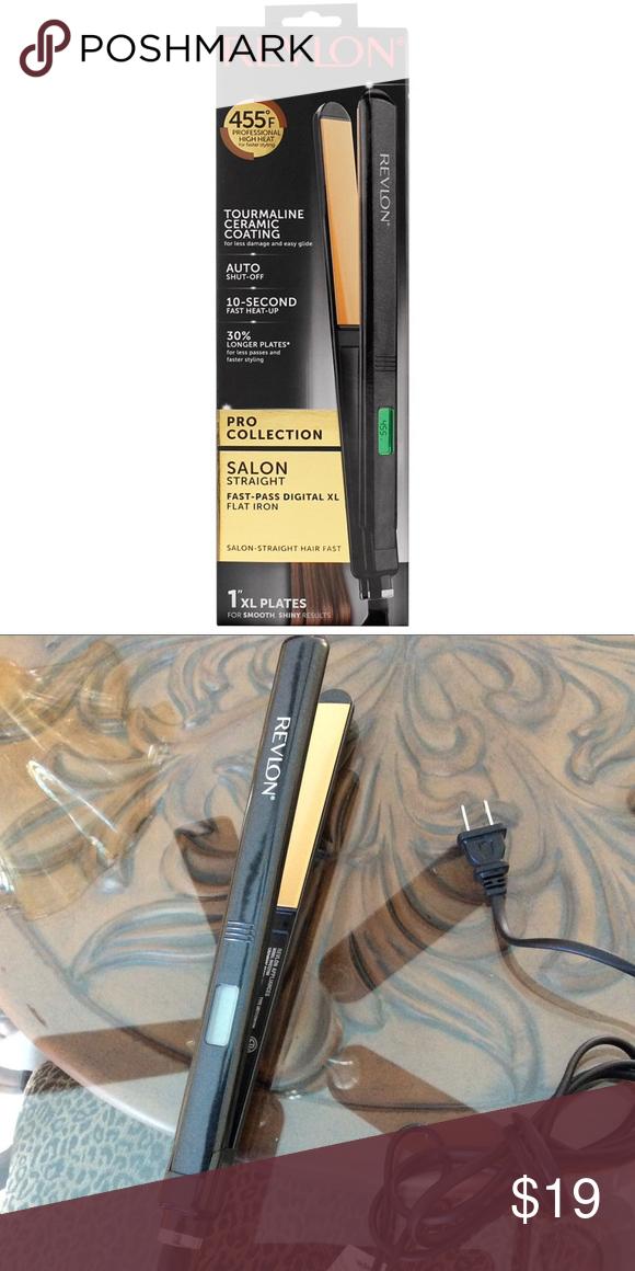Tourmaline Ceramic FastPass Digital XL Flat Iron