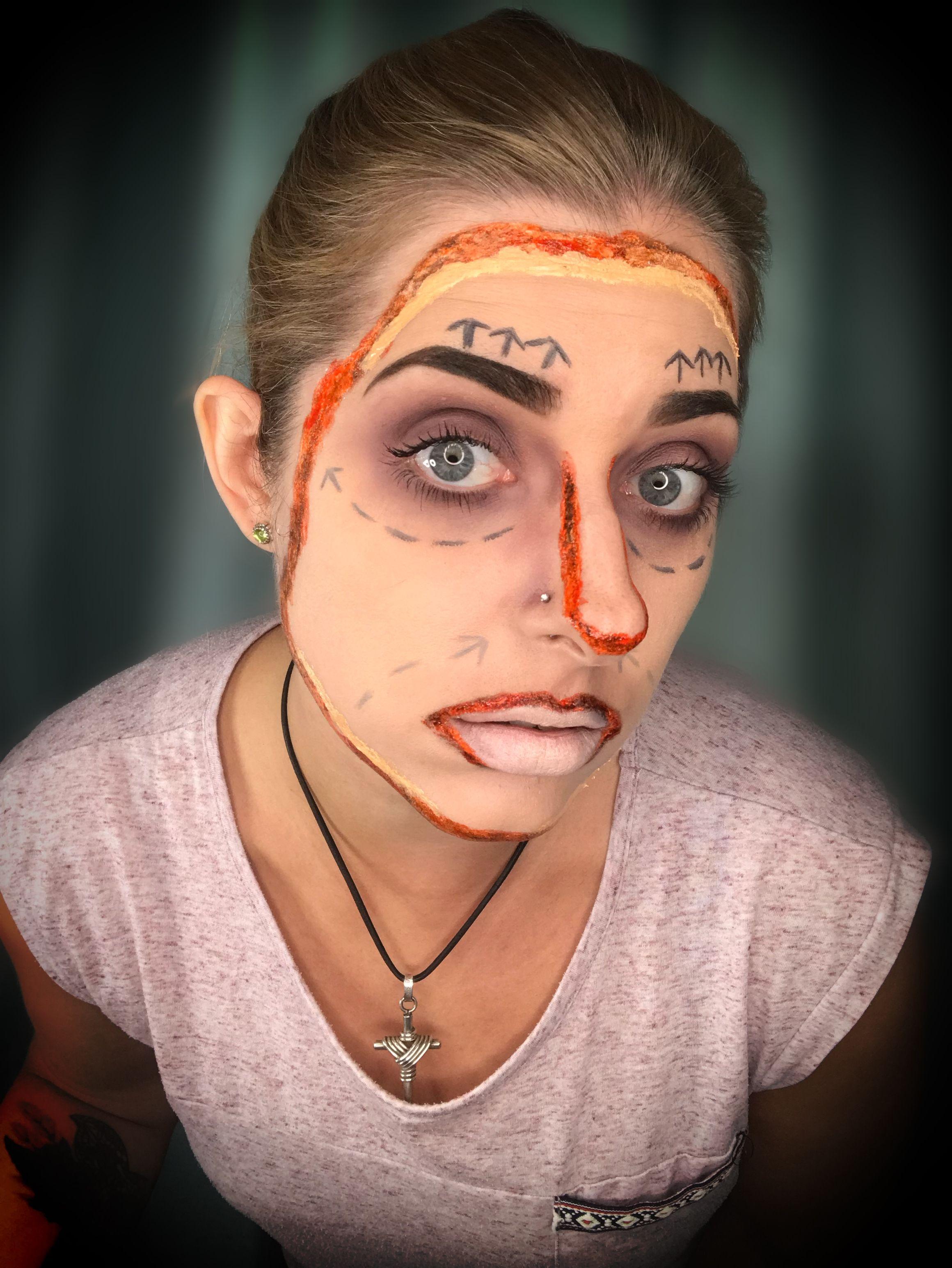 Face Off Halloween Makeup Easy Halloween Makeup Looks Makeup Looks