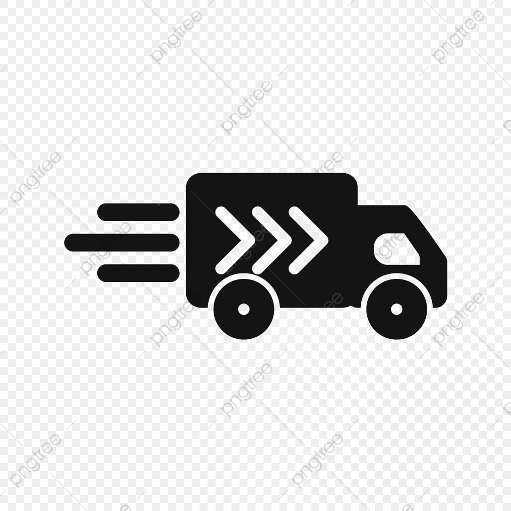 Vector Delivery Truck Icon Truck Van Fast Png And Vector With