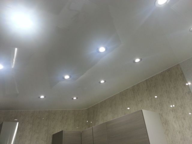 Details about 8 white gloss pvc cladding panels bathroom ceilings pvc shower ceiling panels for Plastic ceiling panels bathroom