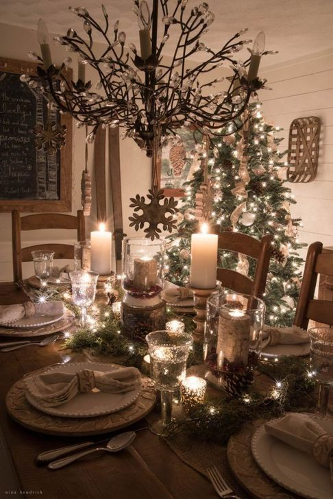 - Decorating for Christmas is one of the things I love about the holiday season.  I have to force myself to wait until after Thanksgiving is over to pu... christmaswonderland #christmastablescapes #christmastablesettings #classychristmasdecorations #christmasdinningtabledecor #christmashomedecorating #christmaspumpkins #christmasnight #christmasmovies