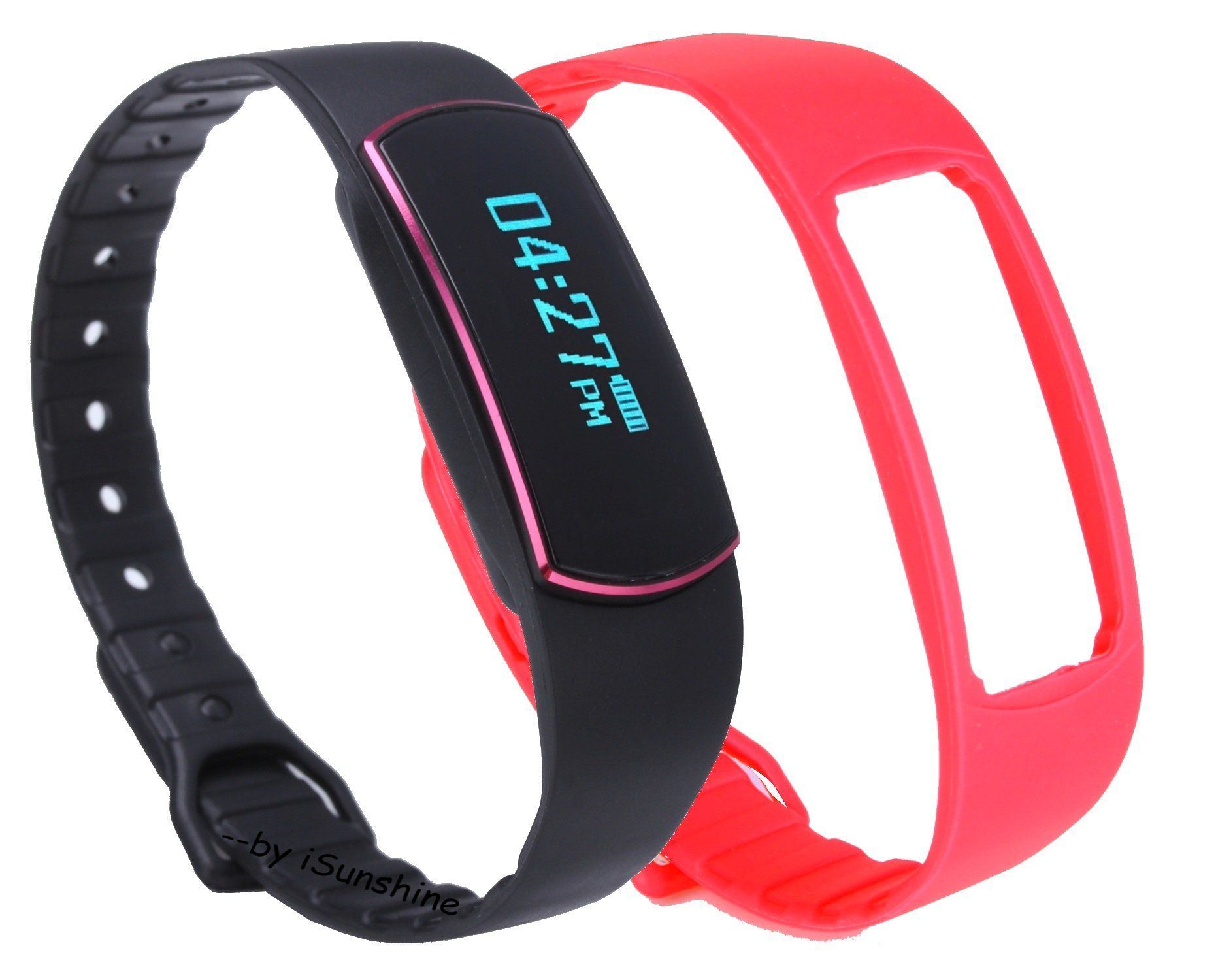 Step Counter Watch Fitness Tracker Waterproof Fit Bracelet For Le Iphone Android Activity
