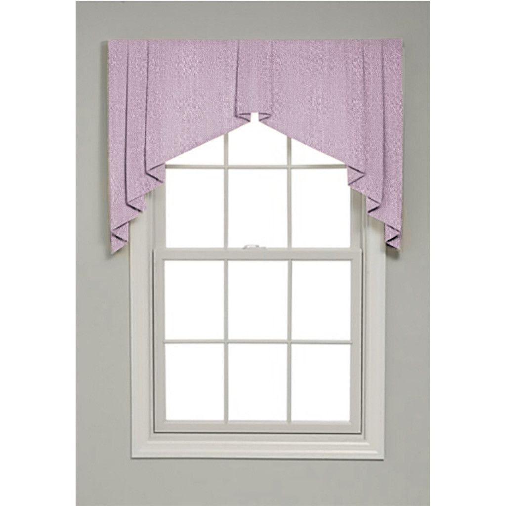 Winston Solid Color Valance