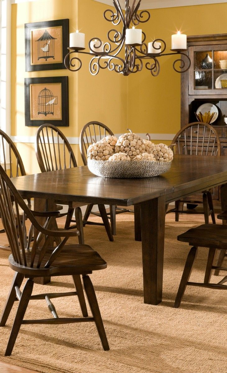 Pin By Krista Steele On Home Decor Yellow Dining Room Decor Dining Room Decor