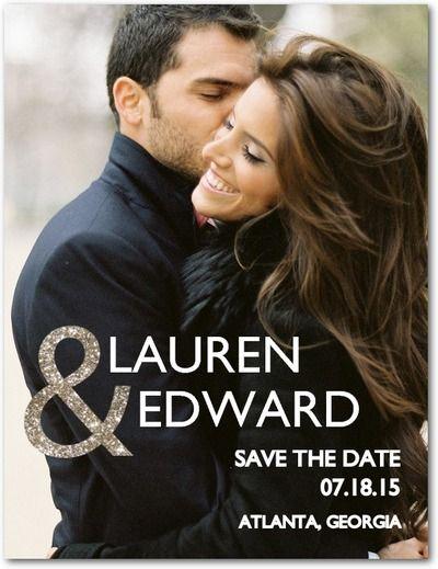 Enchanted Embrace Save the Date Postcards Wedding Paper Divas
