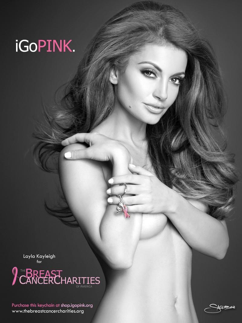 Layla Kayleigh Nude Cheap porque la lucha contra el cancer de mama también es sexy layla