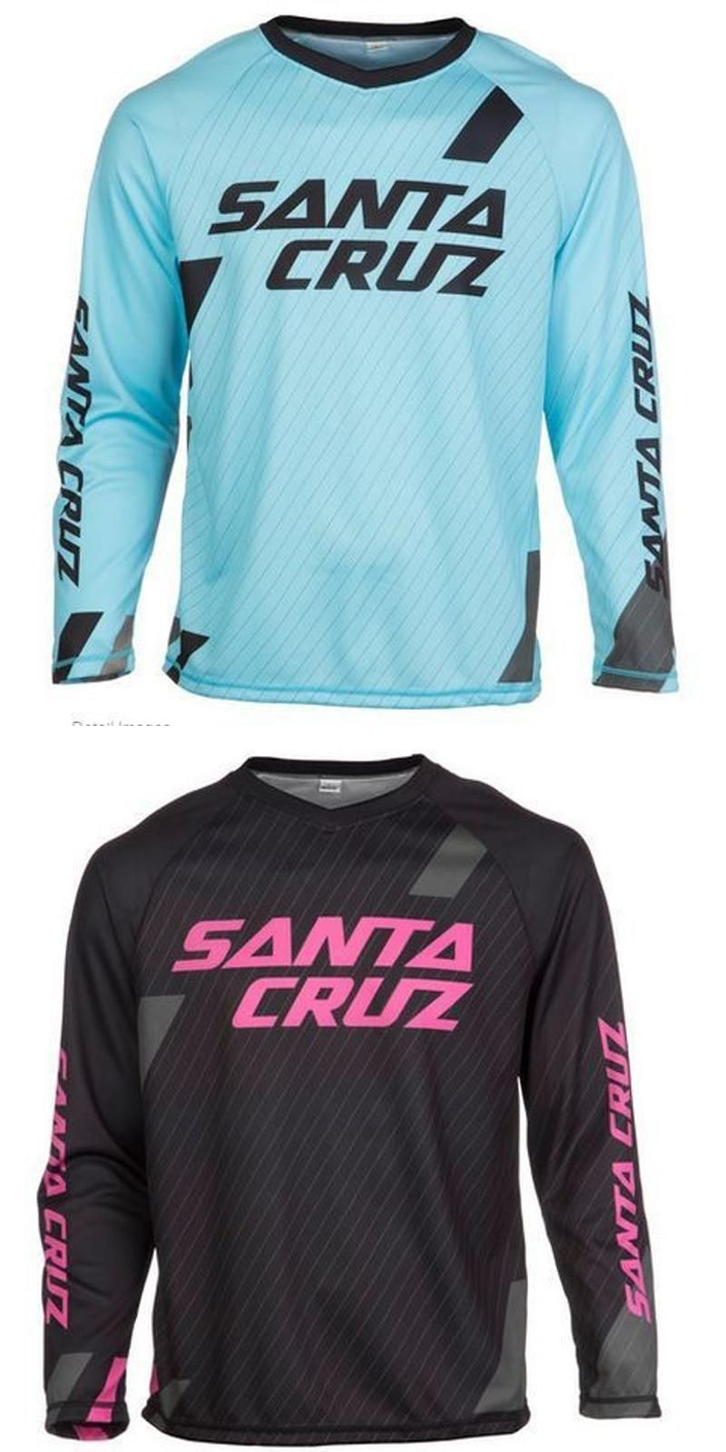 Visit to Buy  2016 New Santa Cruz Mountain Bike Jersey Breathable Downhill  Cycling Long ab9733719