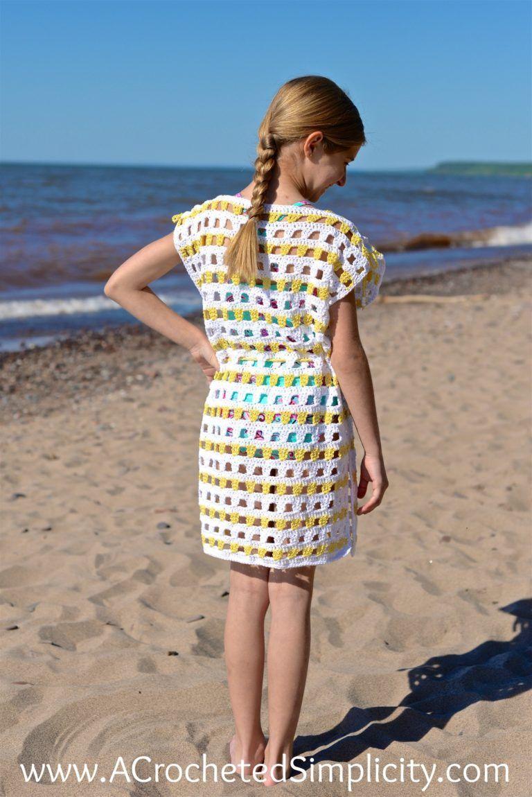 b8799c8d92f8d Free Crochet Pattern - Sunny Days Beach Cover-up (18