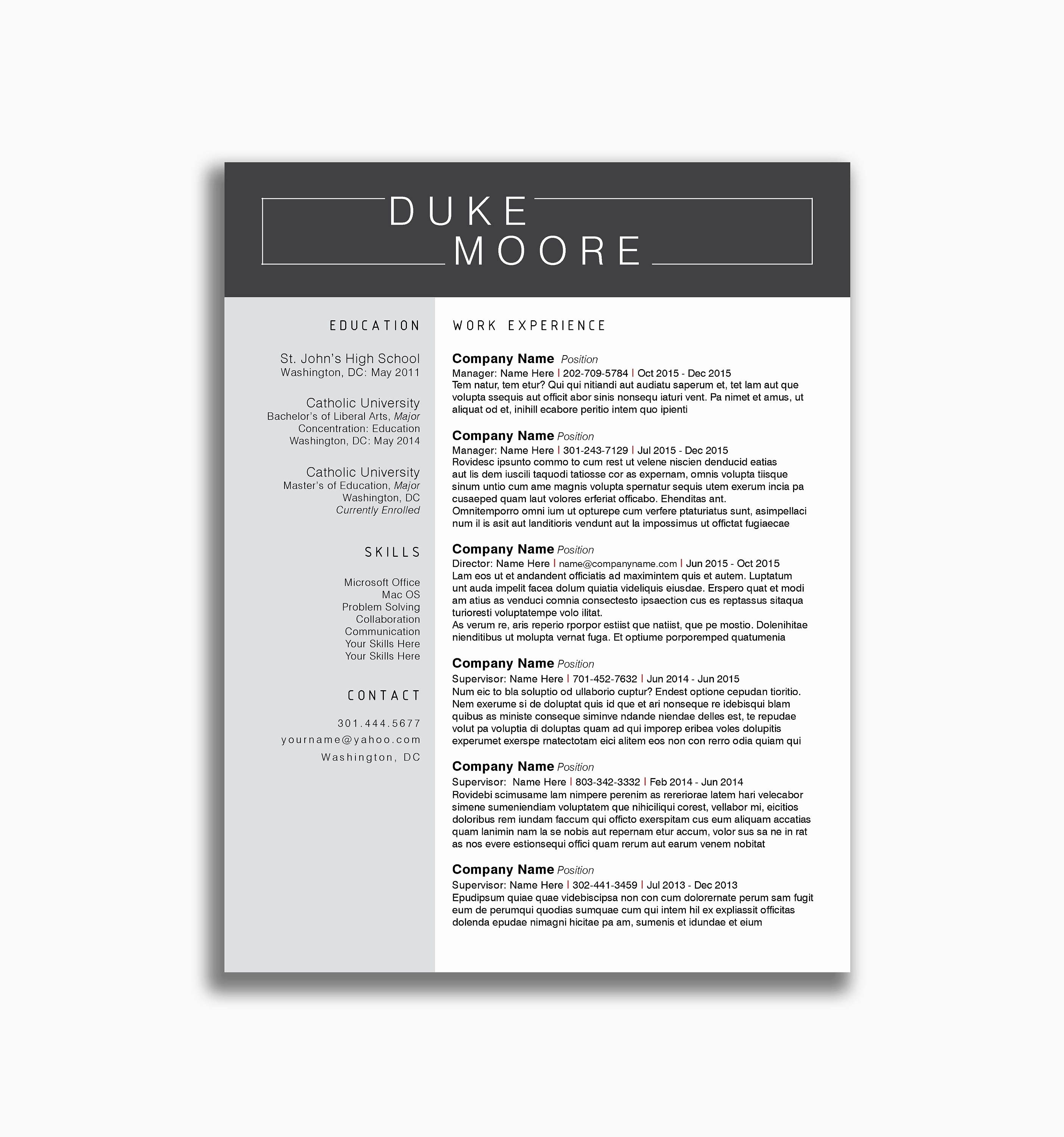 76 Awesome Photos Of Nursing College Student Resume Examples Resume Skills Resume Examples Best Resume Template