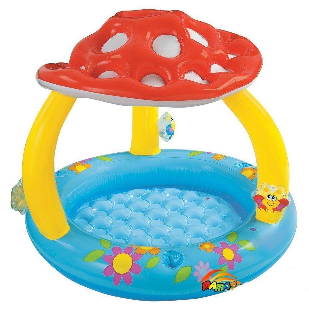 Intex Mushroom Baby Inflatable Pool Sunshade Fun Toddler