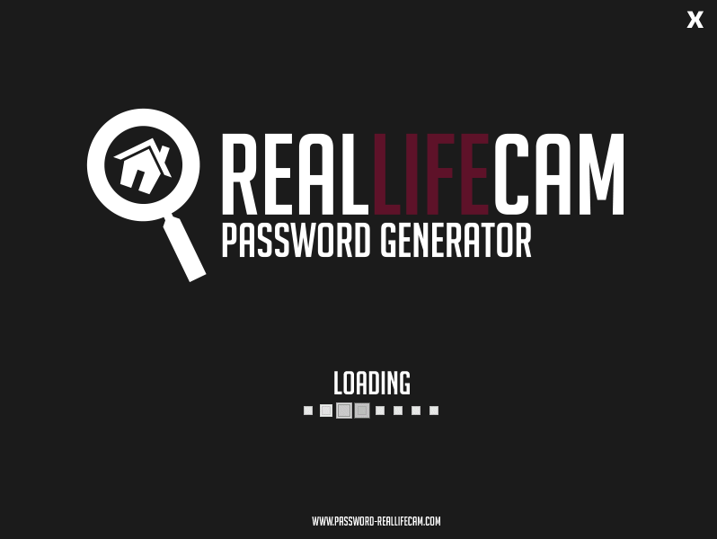 Real Life Cam Password