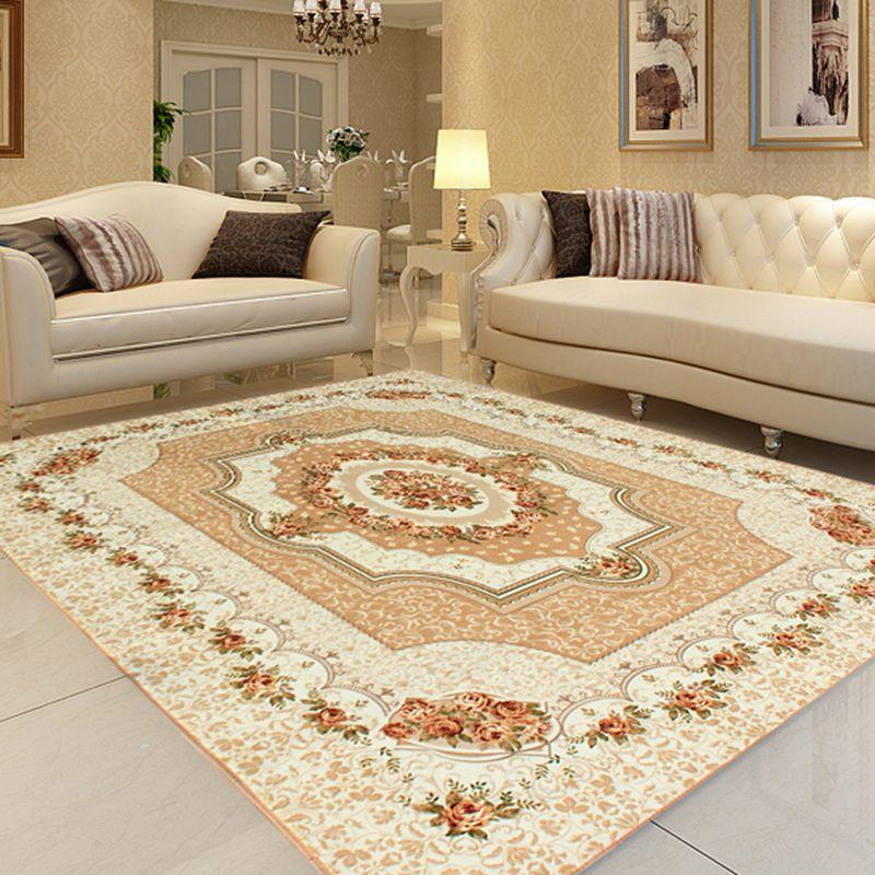 Honlaker 200X240Cm Carpet Living Room Large Classic European Rugs Custom Carpet For Living Room Inspiration Design