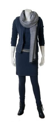 edc4c76133f3d1 Arthur   Willemijn blauwe jurk Herfst Capsule Garderobe